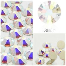 Swarovski Elements 100 x ss16 AB crystals diamantes rhinestones GLUE ON #2088