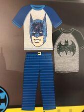 Komar Kids Boys 3 Piece Pajama Sleepwear Set  Batman Size 6