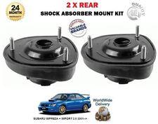 Para Subaru Impreza 2.0 WRX STI 2001 - > 2 X montajes de suspensión trasera superior de sorpresa