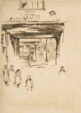 Drury Lane, 1880, JAMES McNEILL WHISTLER Impressionist Art Poster