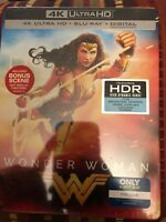 New! Wonder Woman Limited Edition SteelBook 4K UHD + Blu-ray