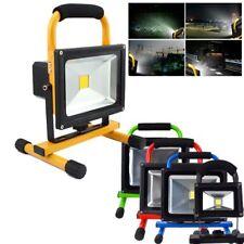 10W-50W LED Foco Proyector Luz brillante Recargable Lámpara Exterior Reflectores