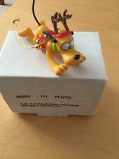 Grolier Disney Christmas Ornament - 26231 111 - PLUTO - Boxed