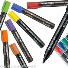 STAEDTLER LUMOCOLOR PERMANENT SINGLE MARKER OFFICE EQUIPMENT STATIONARY SUPPLIES