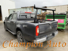 Black Alloy Ladder Rack with extension bar for Mercedes Benz X-Class 17-20