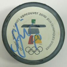 SAMI LEPISTO SIGNED 2010 VANCOUVER OLYMPICS HOCKEY PUCK 1000739