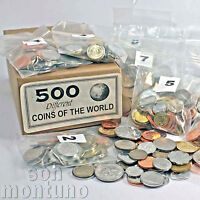 500 COINS FROM 150 DIFFERENT COUNTRIES - World Collection - GREAT STARTER GIFT