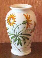 "Portmeirion Botanic Garden 8"" vase In ""African Daisy"" Design."