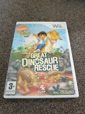Go Diego Go Great Dinosaur Rescue NINTENDO WII UK PAL juego