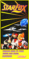 STAR FOX NINTENDO POWER POSTER