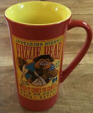 Fozzie Bear Mug Disney Store Red With Show Poster Muppets Coffee Tea Cup Comedy