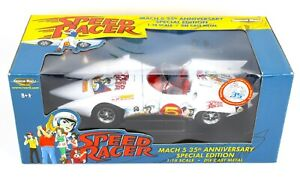 1:18 ERTL American Muscle *SPEED RACERS* 35th Anniversary MACH 5 Special Ed. NIB