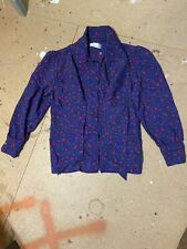 Vintage Givenchy Womens Button Down Size 16 Neck Tie