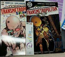 TRANSMETROPOLITAN TP 1 e 4 - Ed. PLAY PRESS - SCONTO 20%