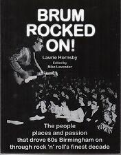 Laurie Hornsby BRUM ROCKED ON! / Birmingham beat groups / Brumbeat / Sixties