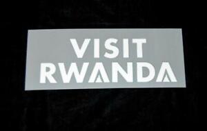 Arsenal Visit Rwanda 2018/19/20 Football Shirt Patch/Badge Sleeve Arm Sponsor