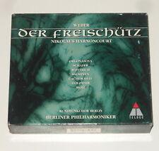 Nikolaus Harnoncourt - 2CD Box - WEBER - Der Freischütz - Teldec 4509-97758-2