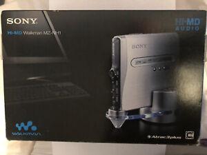 Sony Hi-MD Walkman MZ-NH1 Mini Disc Walkman BOXED