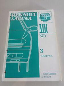 Manual de Taller Renault Laguna Ejes Ruedas Dirección Mecánica Stand 1993