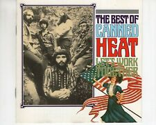 CD CANNED HEAT	the best of	EX  (B4591)