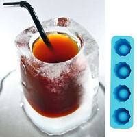 746| Bac à Glaçons verre-Moule-Souple-Silicone-Gel Gelée-Chocolat-Ice Cube-Frigo