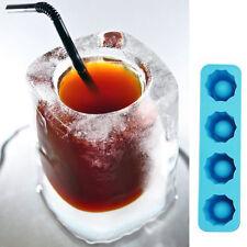 Bac à Glaçons verre-Moule-Souple-Silicone-Gel Gelée-Chocolat-Ice Cube-Frigo