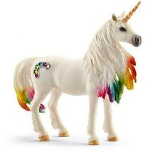 NEW North America Rainbow Unicorn Horse Mare Toy Figure For Kids by Schleich