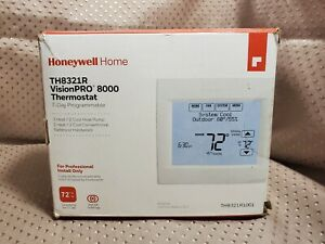 Honeywell Home TH8321R1001 VisionPRO 8000 Thermostat White 3 Heat & 2 Cool Stage