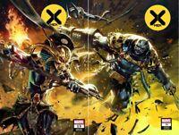 X-MEN #13 & #14 KAEL NGU CONNECTING VARIANT SET WOLVERINE APOCALYPSE X OF SWORDS