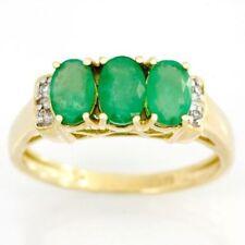 Handmade Emerald Anniversary Fine Rings