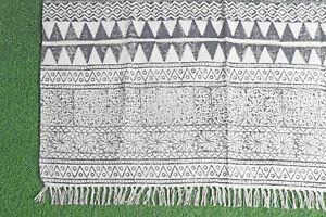 4x6ft Area Rug Floor Rug Handmade Cotton Dari Rug Carpet Rug Bohemian Rug Runner