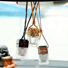 60x Car Empty Perfume Hanging Mini Bottle Air Diffuser Freshener Gadget Ornament
