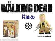 FUNKO MYSTERY MINIS - AMC THE WALKING DEAD - MERLE DIXON BLOODY - FIGURINE