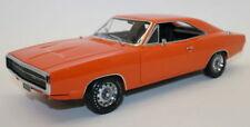 Greenlight 1/18 Scale 1970 Dodge Charger 500 Orange Diecast Model Car