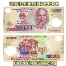 Vietnamese Dong - 1 Million Dong = 200000 Vnd x 5 - Vietnam Banknotes - Unc