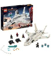 LEGO 76130 Marvel Stark Jet and the Drone Attack Spider-man Far From Home Open