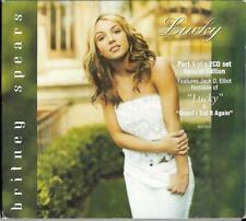 Britney Spears , special edition 2x cd single set - Lucky