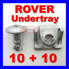 ROVER 75 MG ZT ENGINE UNDERTRAY CLIPS SPLASHGUARD SHIELD BOTTOM COVER