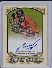 Adeiny Hechavarria 2014 Topps Gypsy Queen Baseball Auto Autograph Card
