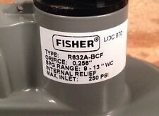 Fisher Propane Integral Two Stage Regulator R632A-BCF with POL x 6 Tank Adapter