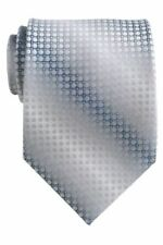 Hand Tailored Wooven Neck Tie, Style #: L54742-A11, Silver