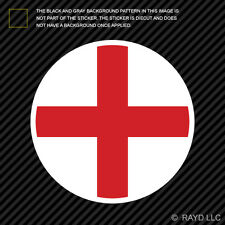 Round English Flag Sticker Decal Self Adhesive Vinyl England gb gbr