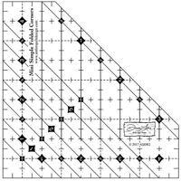Mini Simple Folded Corners byAntler Quilt Design (Doug Leko)