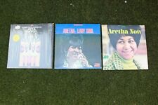 Aretha Franklin 3 JACKET Lot NO Record Now Lady Soul Young Gifted Black orig
