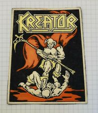 Kreator - Endless pain Vintage rubber patch very rare thrash metal