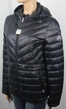 Ralph Lauren Black Hooded Down Puffer Coat Jacket Packable NWT $190
