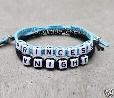 Handmade Couples Bracelet  knight and princess boyfriend girlfriend jewelry