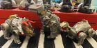 Vintage 1984/85 Transformers G1 Dinobot Sludge Grimlock Slag Lot (3) For Sale