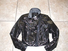 "NWT""H&M""Faux Leather Lined Zip Front Pockets Crop Jacket size 2US/32EUR Cute!"