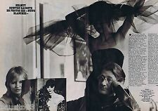 COUPURE DE PRESSE CLIPPING 1978 HELMUT NEWTON (2 pages)